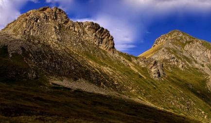 Montagne au Kosvo