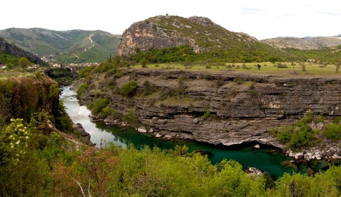 Moraca-rivière-Montenegro