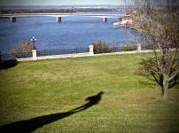 La Rivière Ottawa et l'ombre du grand Champlain...