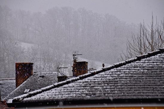 Le toit jaune