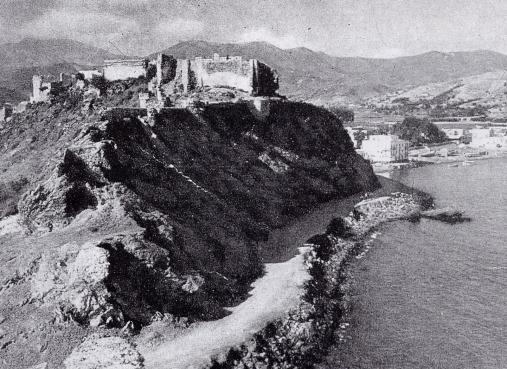 Almunécar, le chateau mauresque, 1900
