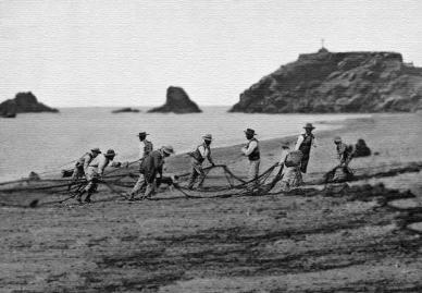 Almunécar, pêcheurs