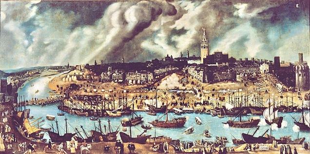 Séville et son port fluvial
