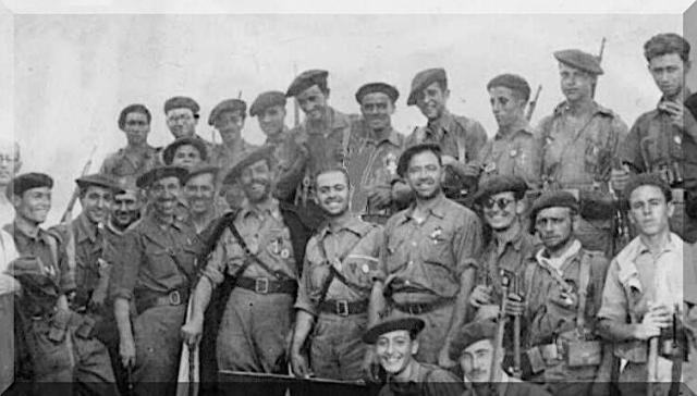 Redondo et ses requetés 1936