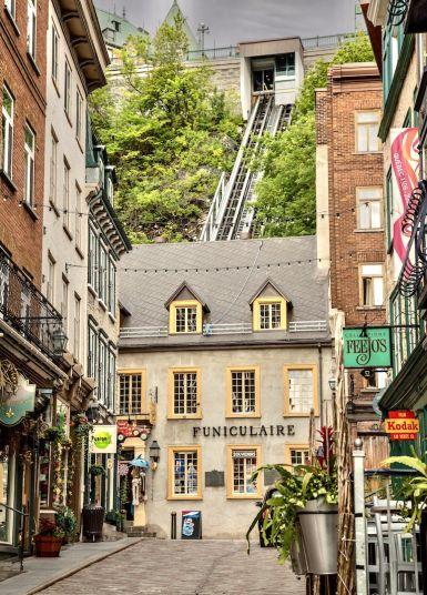 Funiculaire, Vieux-Quebec