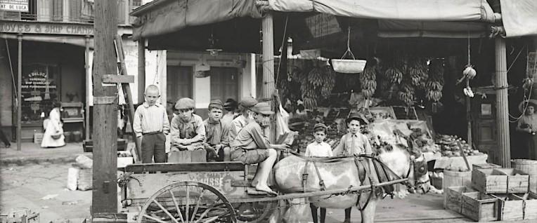 Nola, French Market, 1910