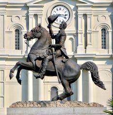 Nola, Jackson Square, statue