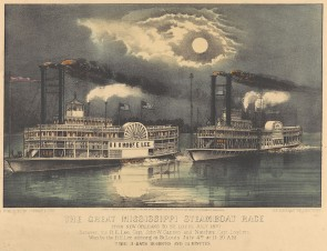 The Great Mississippi steamboat race, PY0339