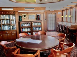 Steamboat, salle de presse