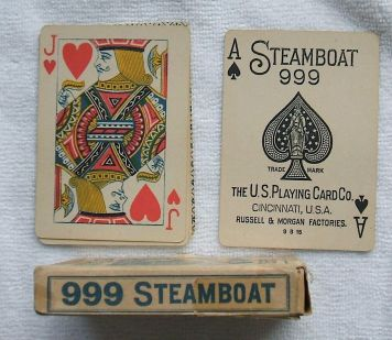 Steamboats, cartes à joiuer