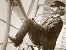Mark Twain quand il était pilote de Steamboat