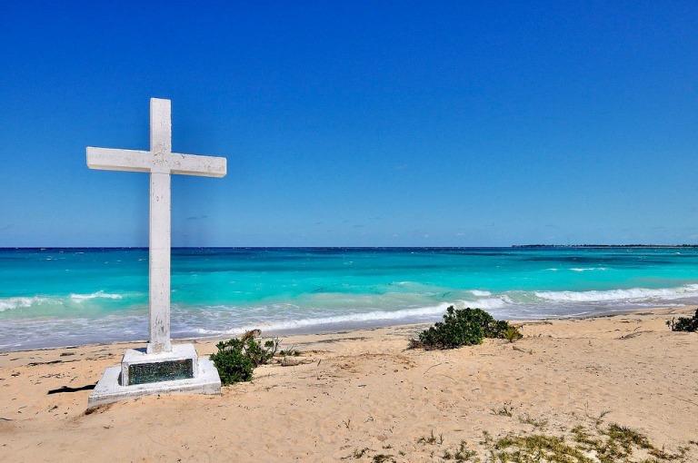 Bahamlas, Croix Colomb.jpg