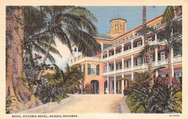 NASSAU-Bahamas-ROYAL-VICTORIA-HOTEL