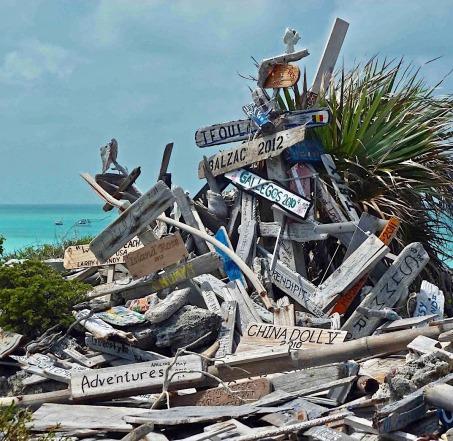 Bahamas, panneaux
