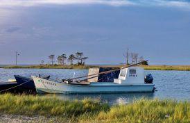 Apalchicola, bateau huitres