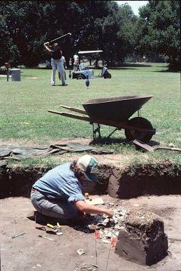 L'archéologie ne connait pas de frontères !...base USMC de caroline du Sud.