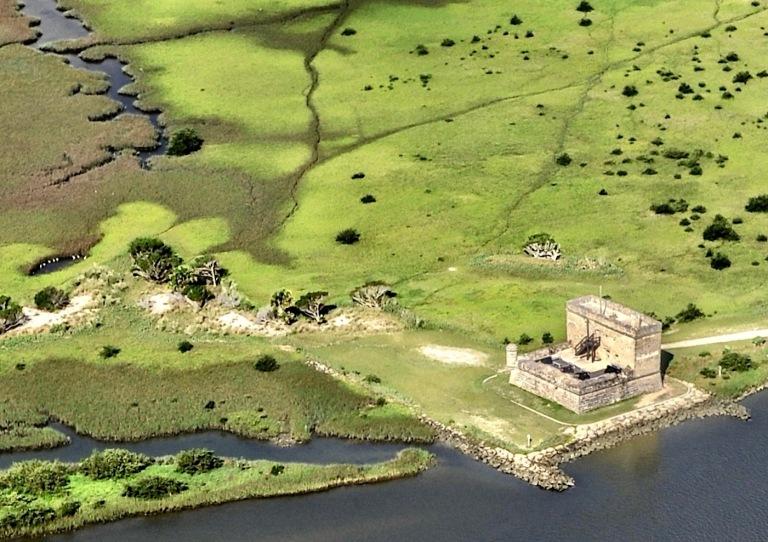 Fort-Matanzas-aerial