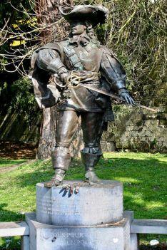 Statue de d'Artagnan, à Maastricht
