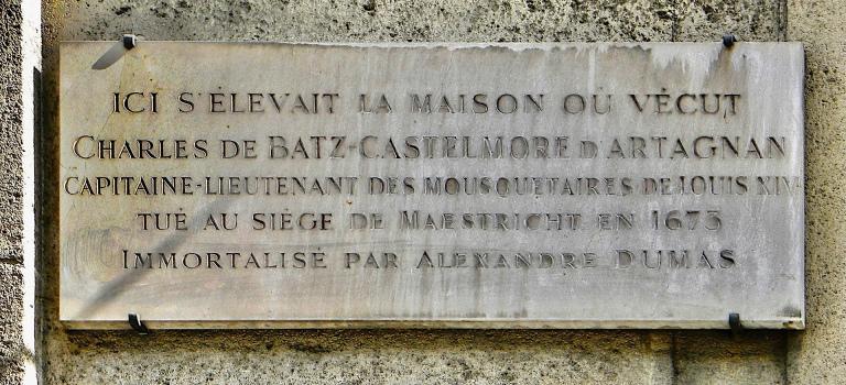 D'Artagnan, Paris