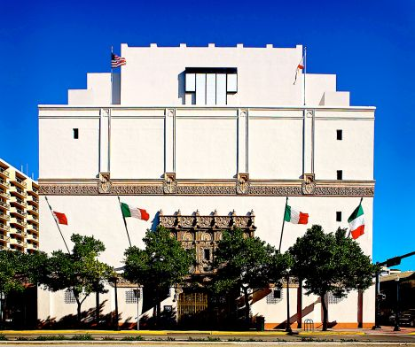 The Wolfsonian Museum in Miami Beach, Florida, USA.